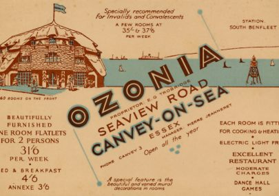 Ozonia Promotional Postcard
