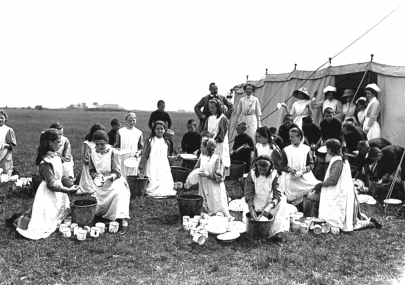 Islington School Children On Canvey Island