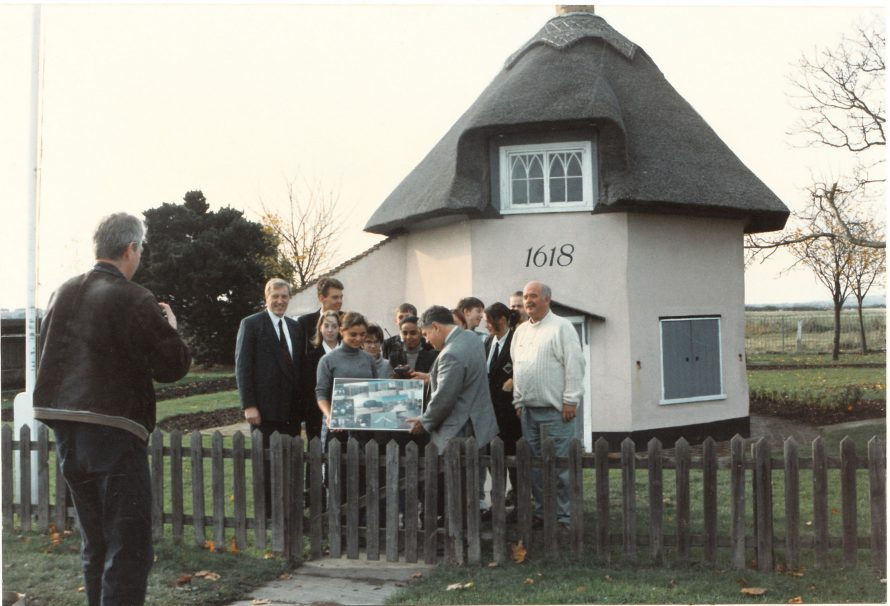 Students from Holland | Courtesy of Canvey Bus Museum