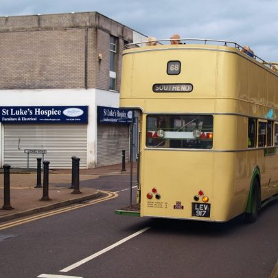 Old Buses Around the Town | Mark Ovenden