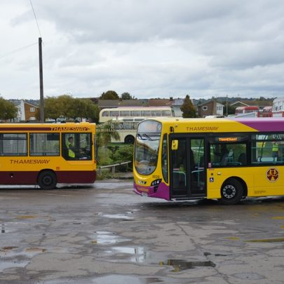 Old Buses at Labworth Field | Essex Bus Enthusiasts Group