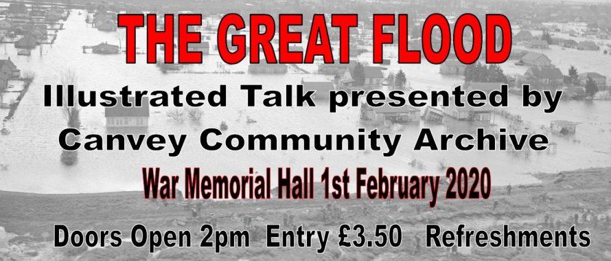 The Great Flood Talk