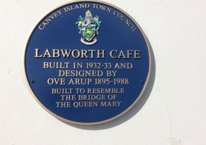 Unveiling of a blue plaque at the Labworth