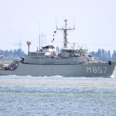 HNLMS Makkum Dutch Navel Vessel | Jan Causon