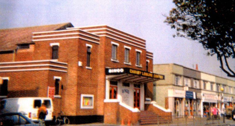 The Rio Cinema, now a bingo hall, in Furtherwick Road. | Wendy Knight