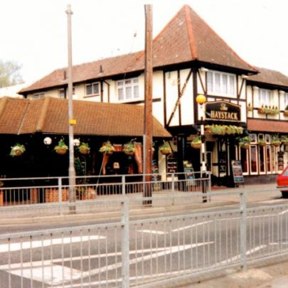 The Haystack pub on the corner of Furtherwick Road and Long Road. | Wendy Knight