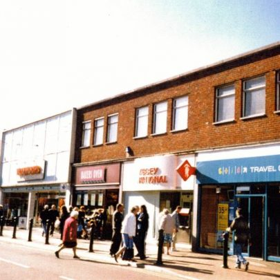 Canvey town centre. Including the old Woolworth store. | Wendy Knight