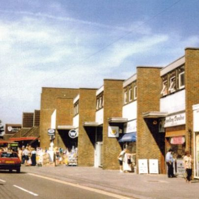 Canvey shops opposite Lionel Road. | Wendy Knight