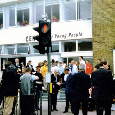 A Royal visit to open the Youth Centre in the former Post Office building. | Wendy Knight