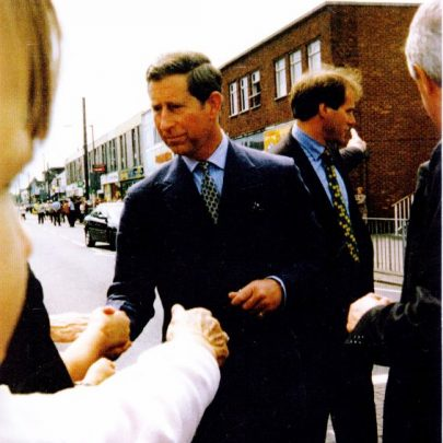 Prince Charles meets and greets. | Wendy Knight