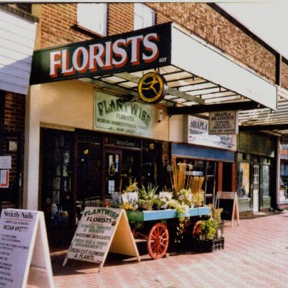 Shops south of Haystack corner | Wendy Knight