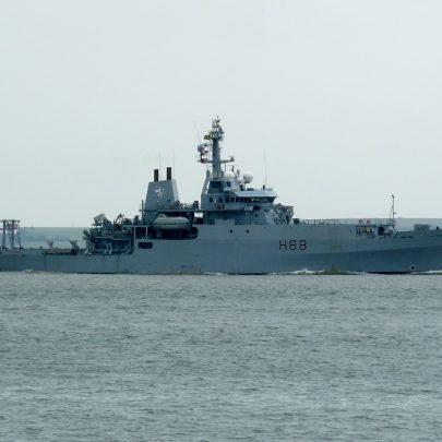 HMS Enterprise RN | Jan Causton