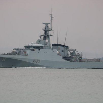 HMS Medway | Jan Causton