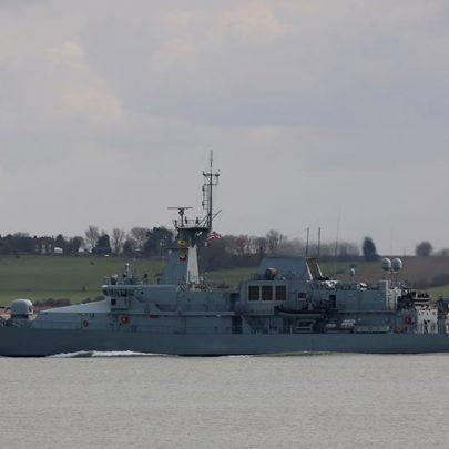 LE James Joyce Irish Navy - Patrol Vessel | Jan Causton