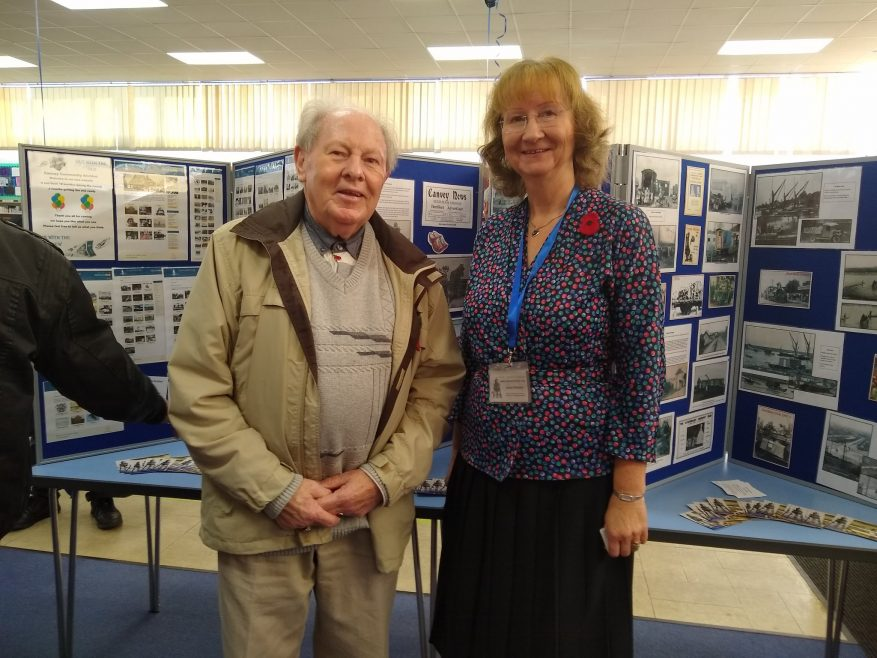 Ray Howard MBE with the Archive's Chair Janet Walden | Janet Penn