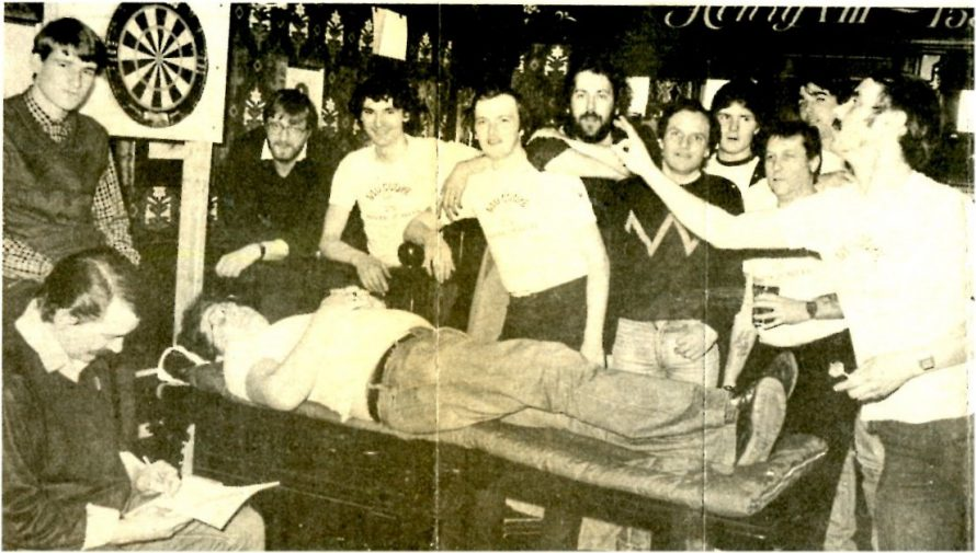 Darts - flat out to help children | Echo Newspaper Archives