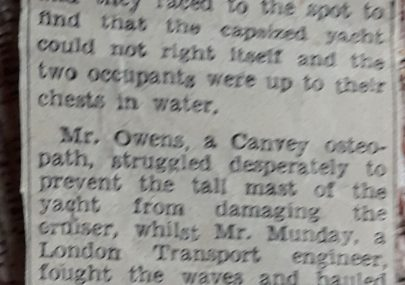 Incident at Canvey