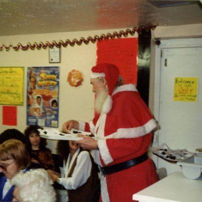 Father Christmas Behaving Badly