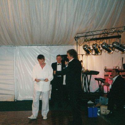 Rod Stewart (centre) | Lee-Ann Green