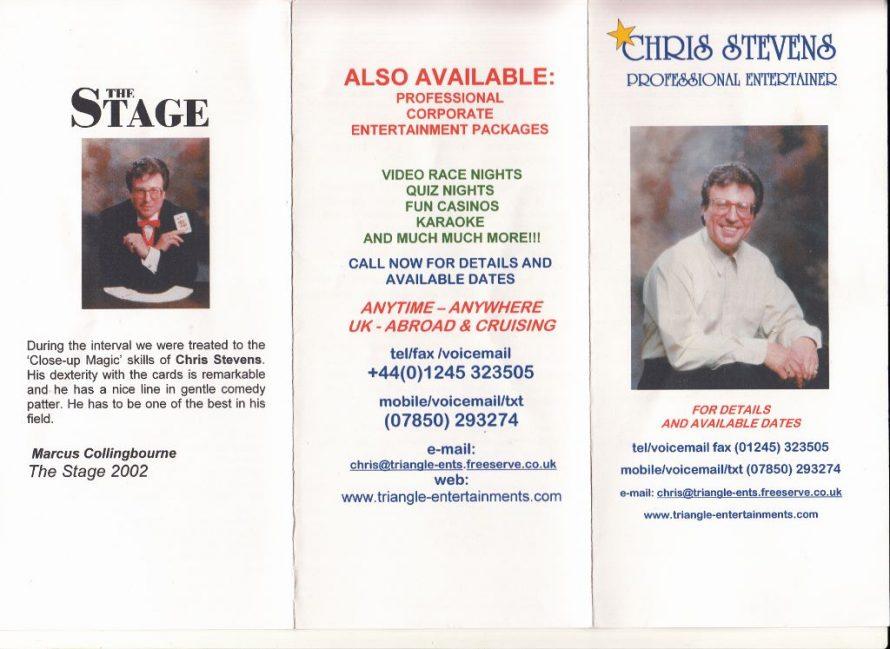 Chris Stevens founder of Triangle.   Lee-Ann Green