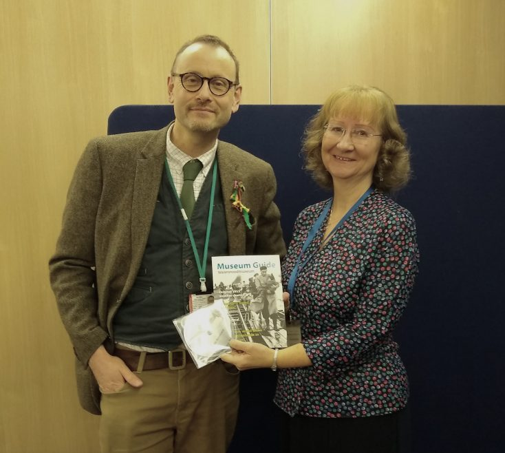 Nick Wiffen from the Essex Record Office and our Chair Janet Walden.