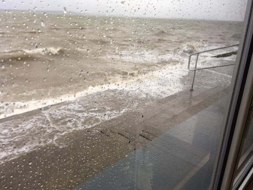 Storm Brendon hits Canvey
