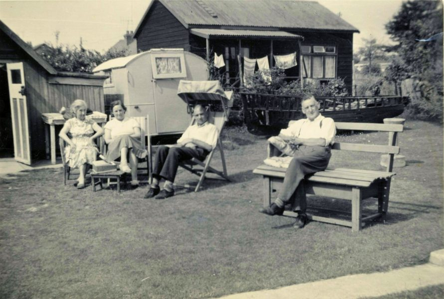 George's mum, dad and sister June.
