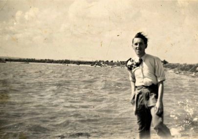 George Brown at Thorney Bay