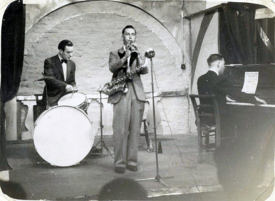 Saxophone playing