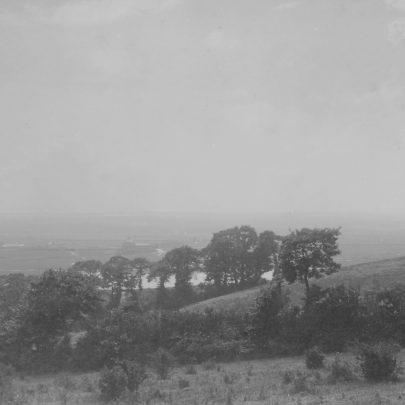 Looking South-West and in the distance we can see Canvey Island.
