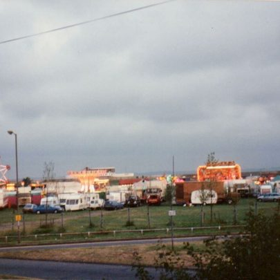 1991 The week long fair on Labworth car park as part of Carnival fun. | J.Walden