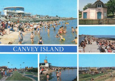 Seaside Canvey postcard