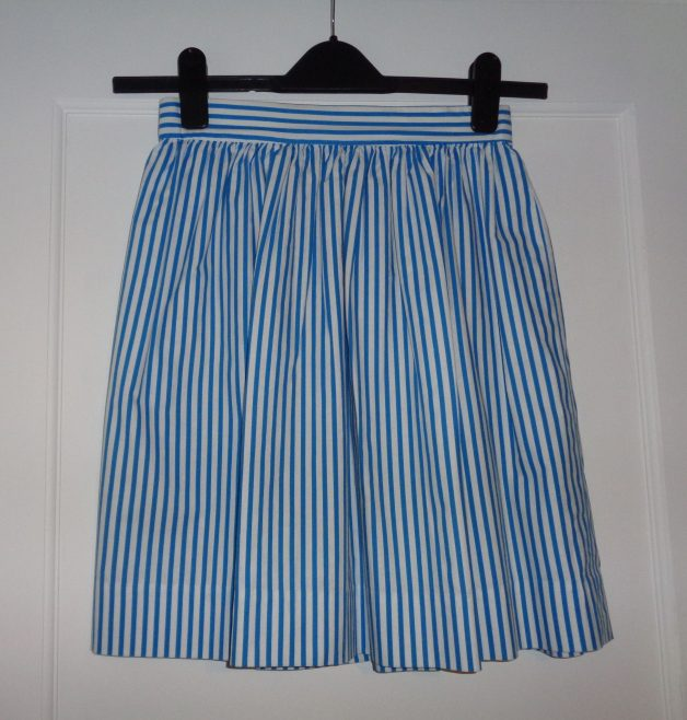 Summer skirt as part of school uniform. | J.Walden