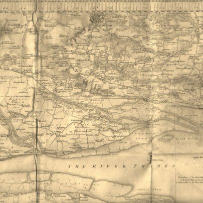 Undated map showing Canvey possibly late 1880's. | Annette Williamott