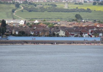 Views of Canvey from afloat on the Estuary.