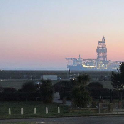 Gas Drilling Platform. | J.Walden