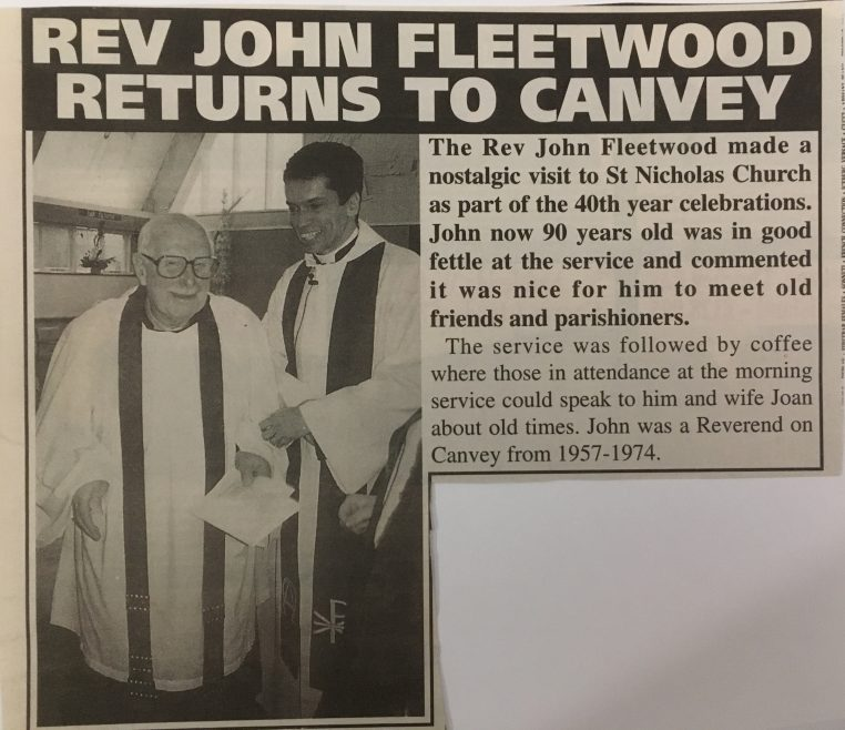 Rev Fleetwood returns to Canvey