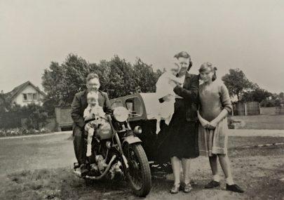 Joan Lock and family