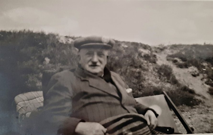 My grandfather John Walker just before he died in 1953.