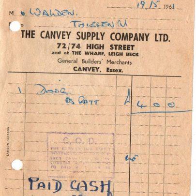Old Canvey businesses. | J.Walden
