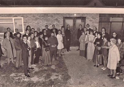 Re-opening of clubhouse 18th March 1972