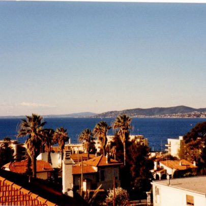 The view from our hostel to the Mediterranean sea. | J.Walden