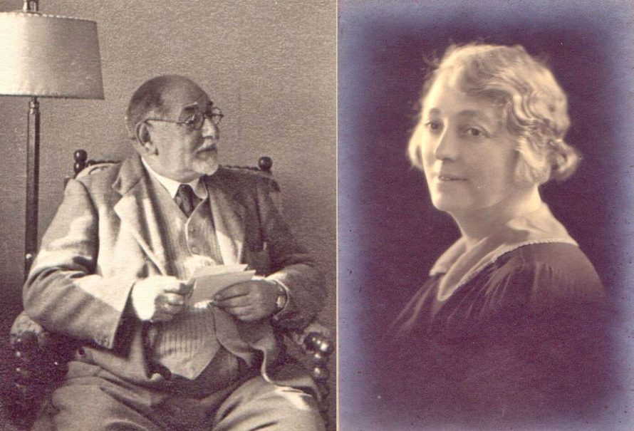 Nissim and his wife Lettice | Eileen Powell