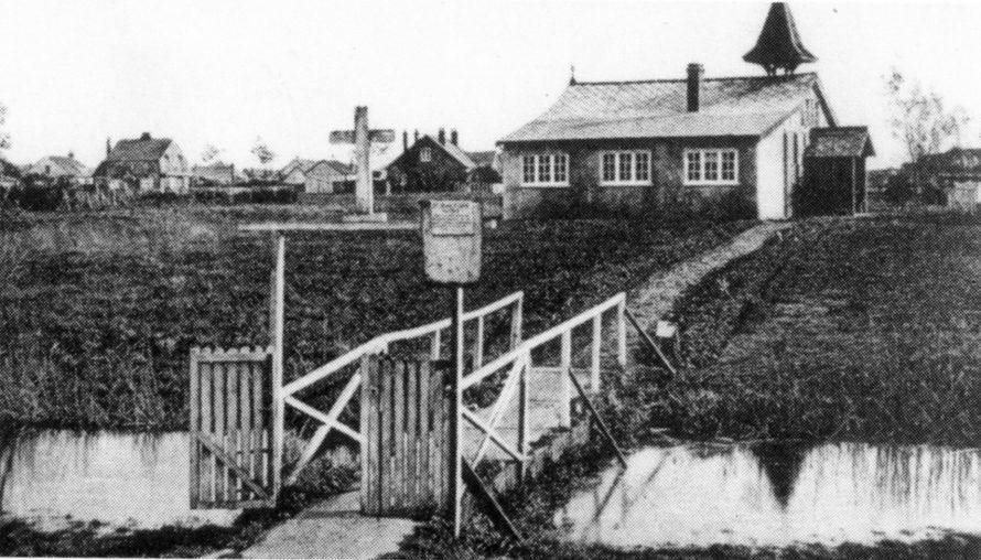 Familiar photo of St Anne's Church