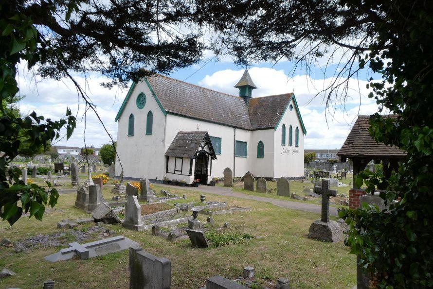 All peaceful in the churchyard | J Penn