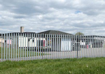 Northwick Park School eerily quiet