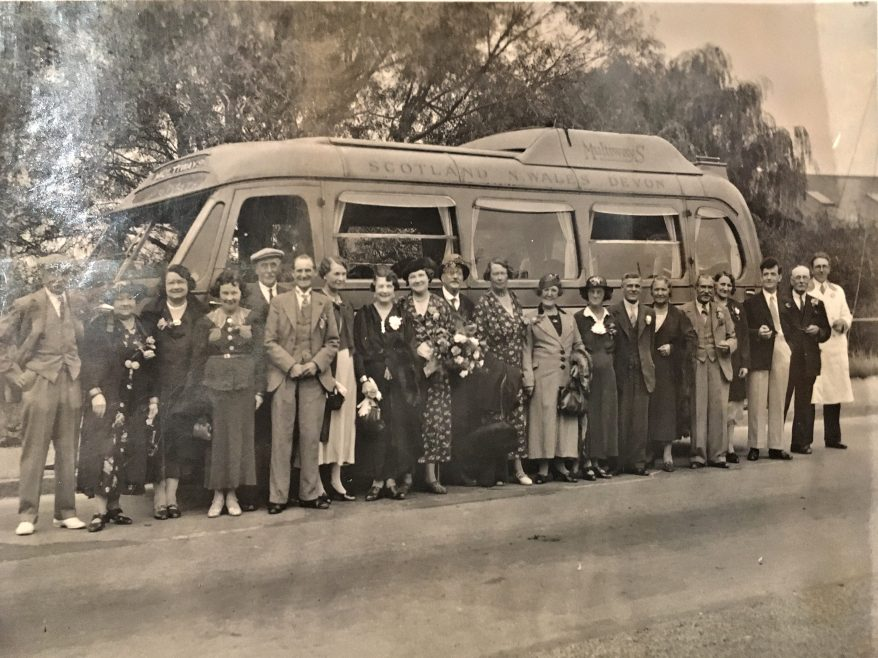 Canvey club outing 1939