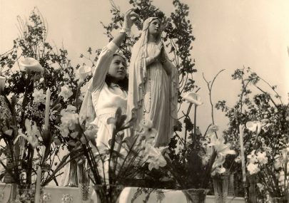 May Queen at the Convent