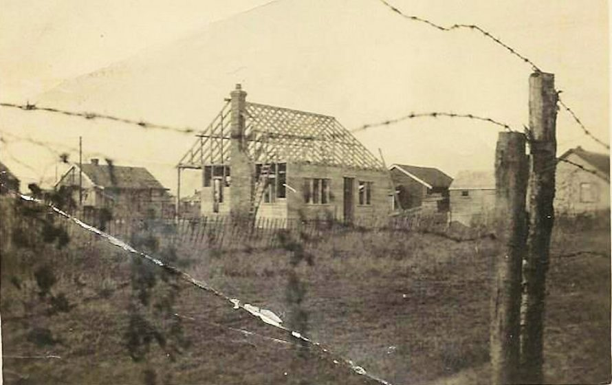 old Bungalow being built does anyone recognise it