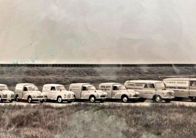 Tower Radio vans 1960s
